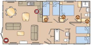 6 Berth Lodge Platinum