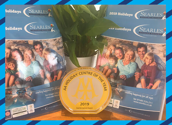 Searles Leisure Resort Awarded AA Holiday Centre of the Year!