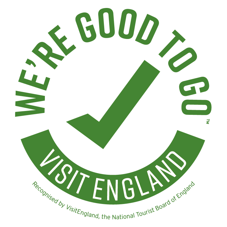 We're good to go, visit England seal