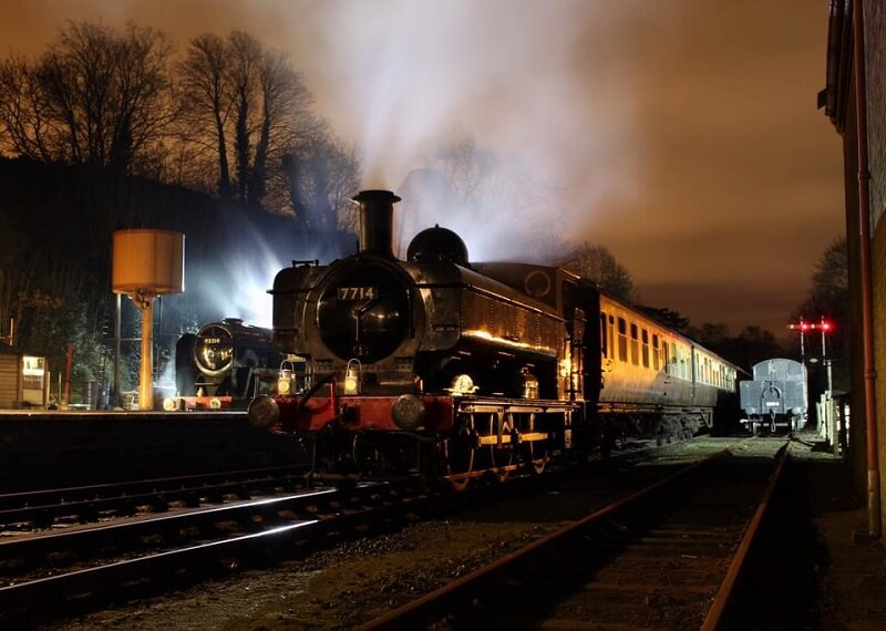 steam train rides Norfolk