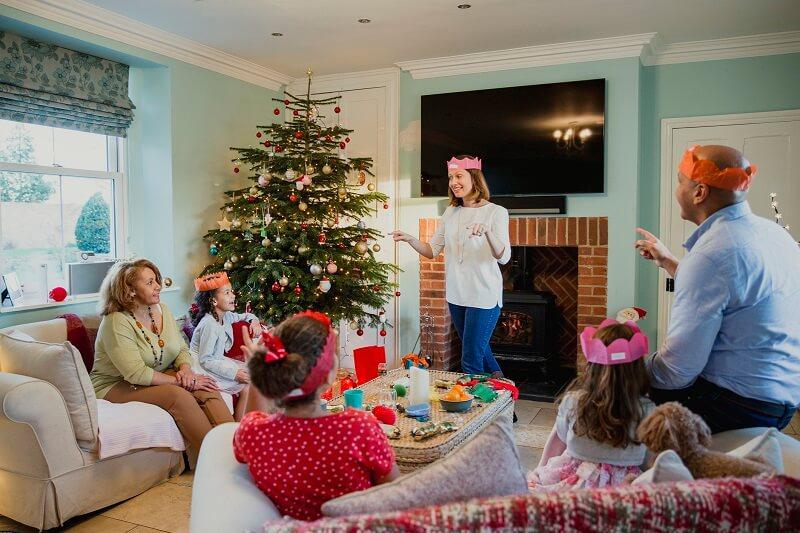 Christmas games for families all ages